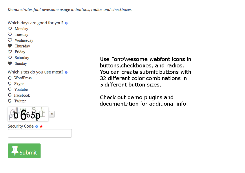 wpappstudio bootstrap form theme with fontawesome